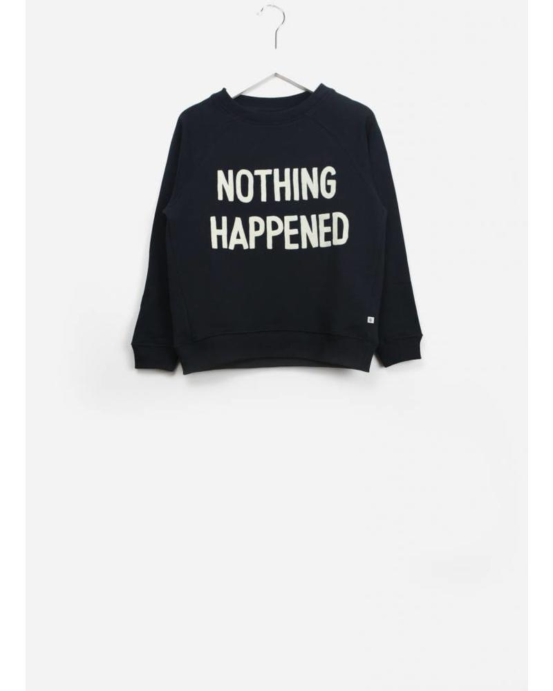 Repose classic sweater blue nothing happend