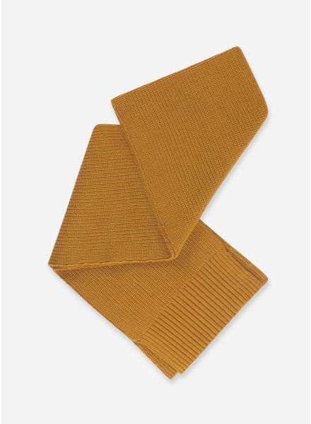 Repose knitted scarf golden yellow