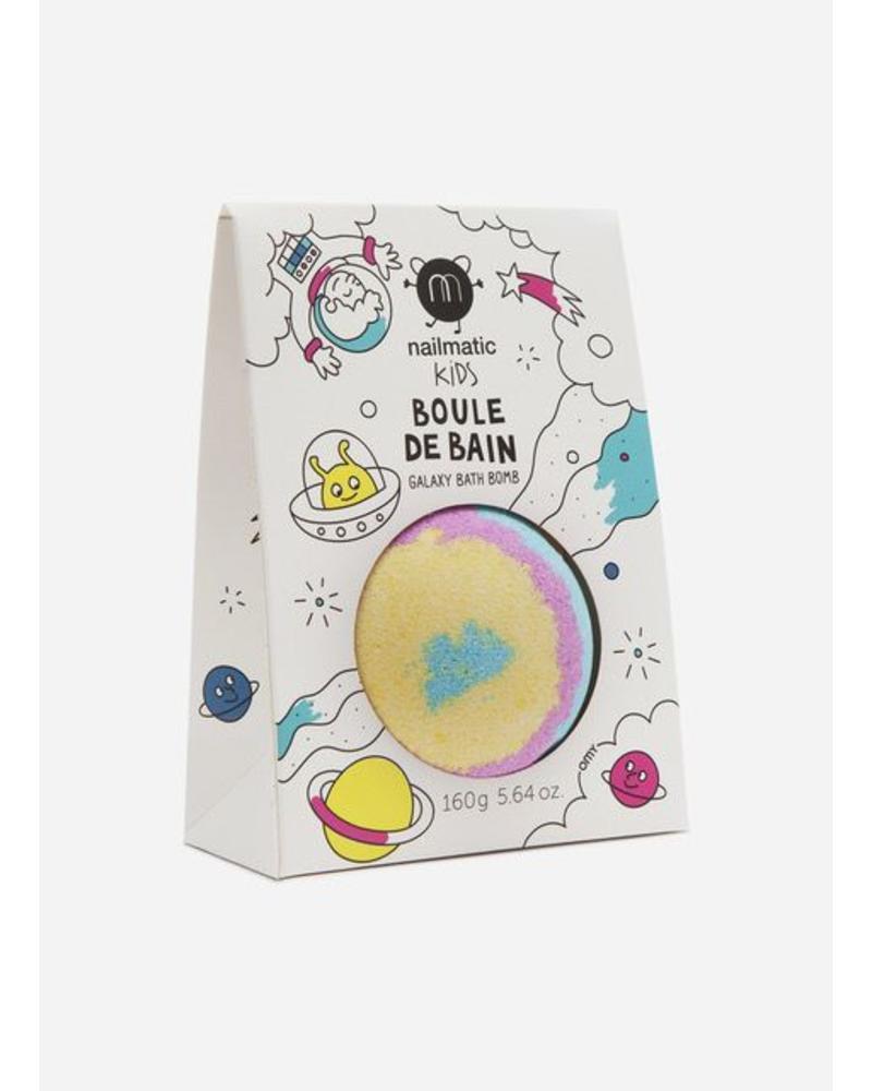 Nailmatic galaxy bath ball pack blue yellow pink
