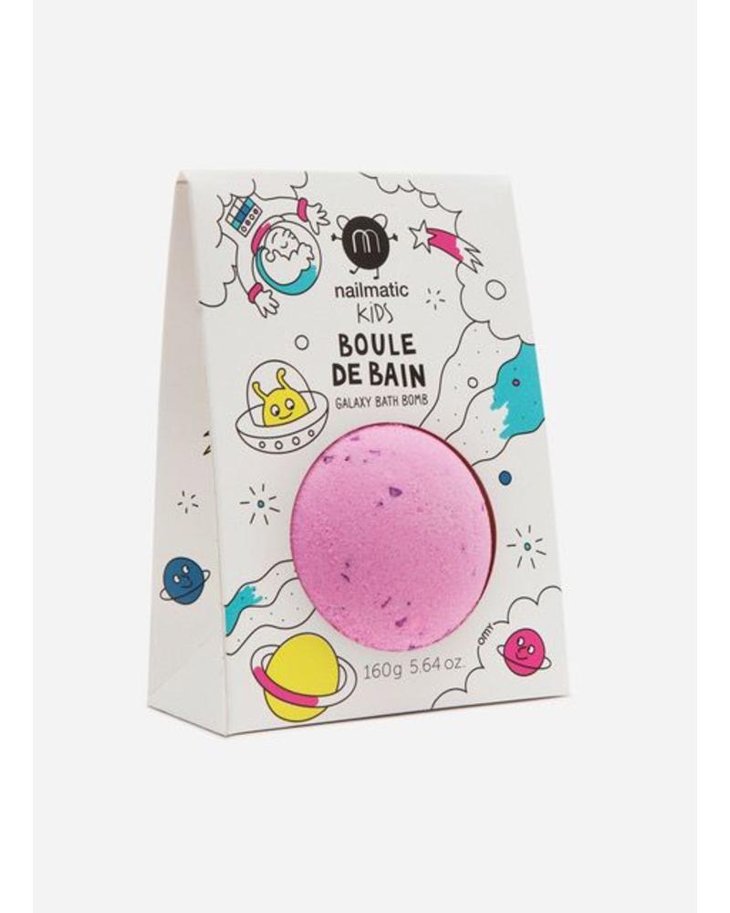 Nailmatic cosmic bath ball pink purple dots