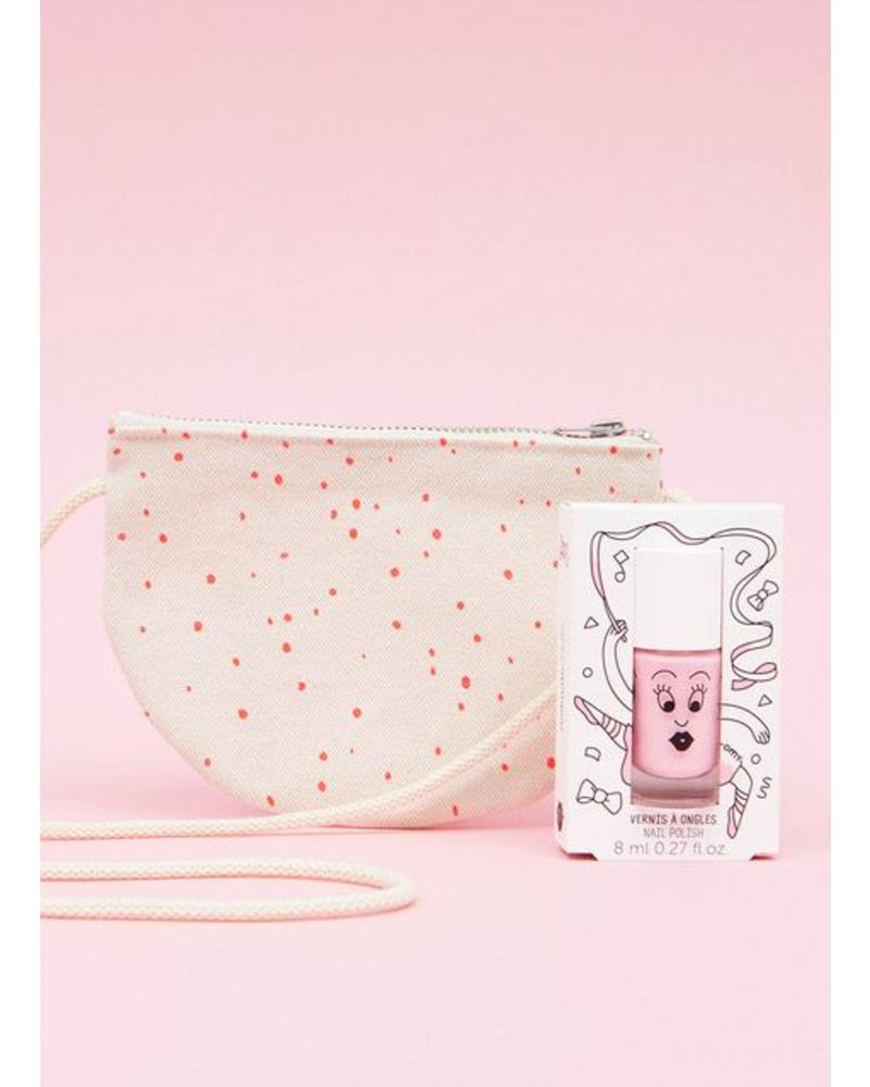 Nailmatic half moon bag + nailpolish bella