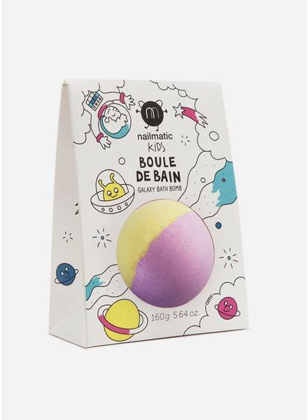 Nailmatic sproutnix bath ball yellow pink