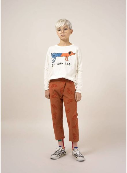Bobo Choses shirt cat and dog round neck