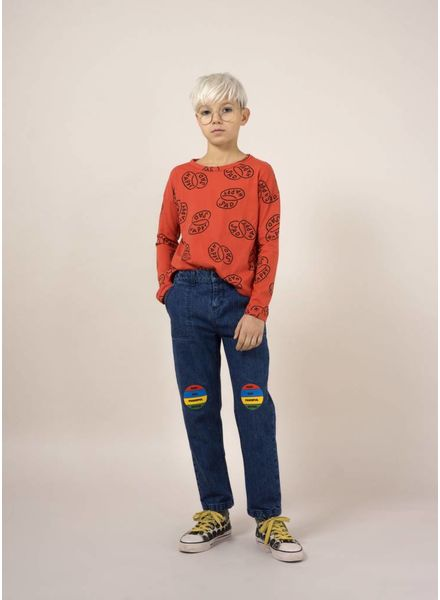 Bobo Choses shirt happy sad round neck