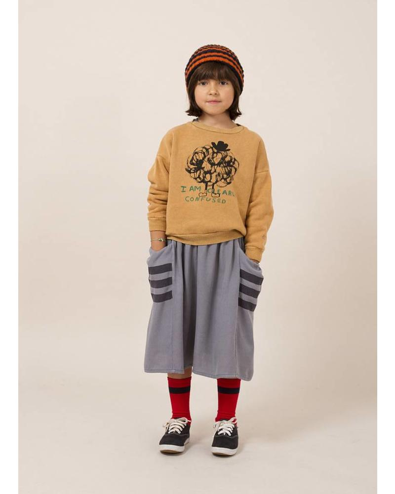 Bobo Choses happy sad empty midi skirt
