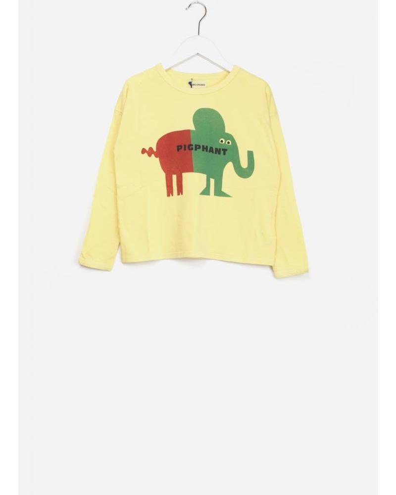 Bobo Choses pigphant round neck t-shirt