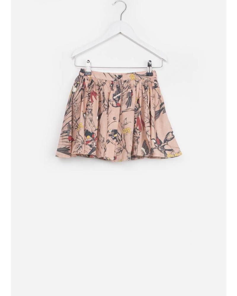 Morley aria birds flora rose skirt