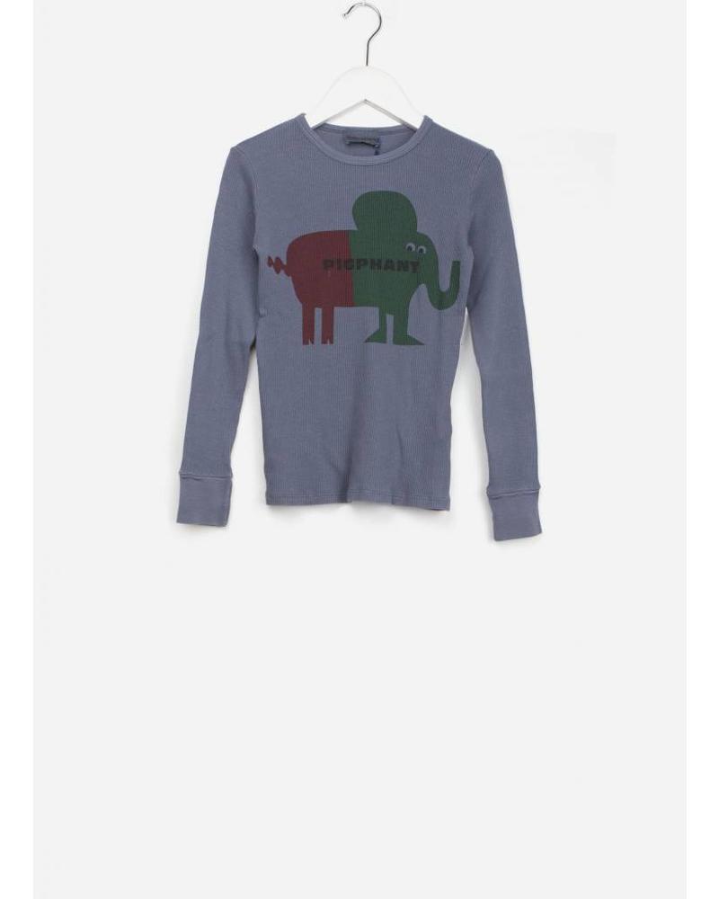 Bobo Choses pigphant rib t-shirt