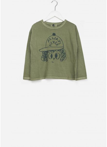 Bobo Choses shirt always never round neck