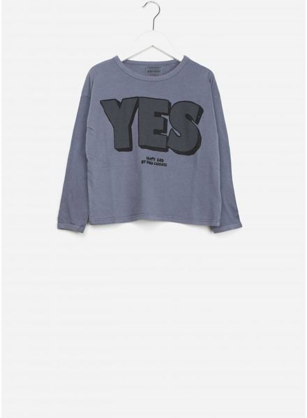Bobo Choses shirt yes no round neck