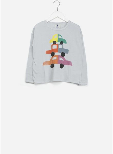 Bobo Choses shirt cars round neck