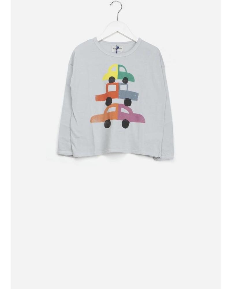 Bobo Choses cars round neck t-shirt