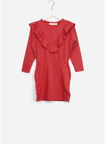 Soft Gallery jurk bea red mini dots