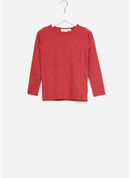 Soft Gallery shirt beverly mini dots red
