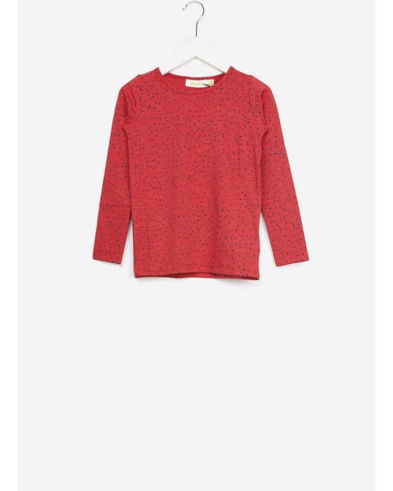 Soft Gallery beverly shirt mini dots red