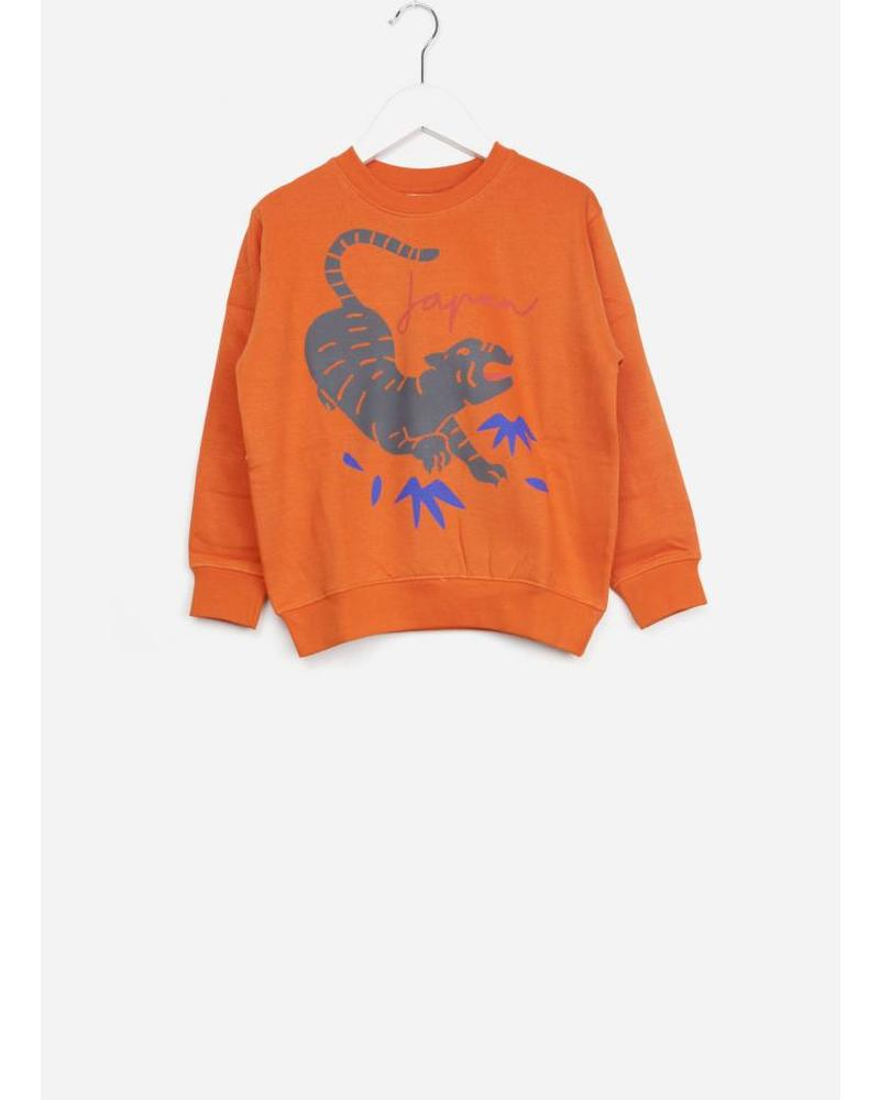 Soft Gallery baptiste sweatshirt pumpkin