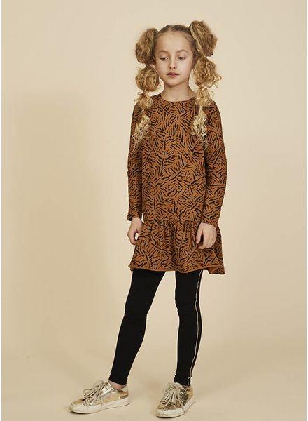 Soft Gallery jurk autumn buckthorn brown