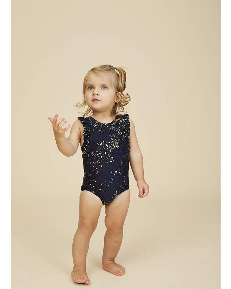 Soft Gallery baby ana swimsuit black iris