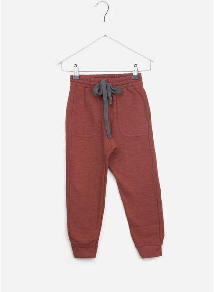 Buho broek mike jogging color cinnamon