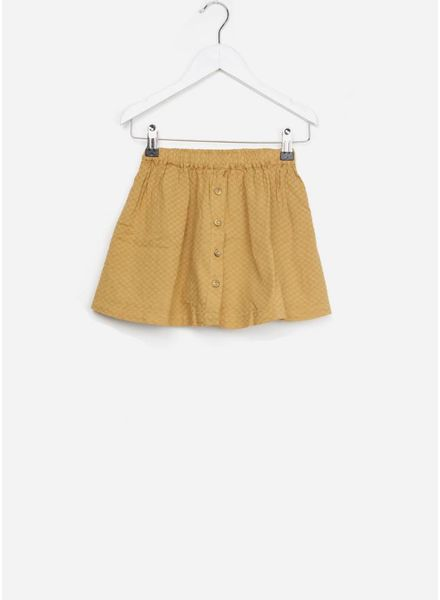 Buho rok emma voile jacquard biscuit