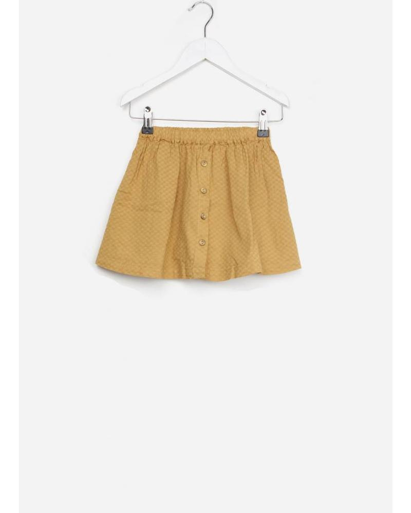 Buho emma voile jacquard skirt biscuit