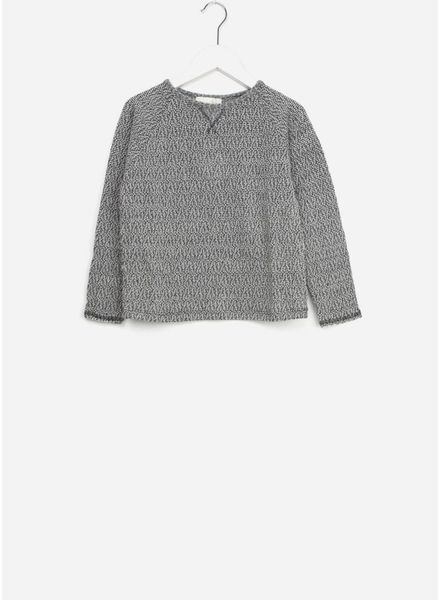 Buho trui linda jersey tweed grey