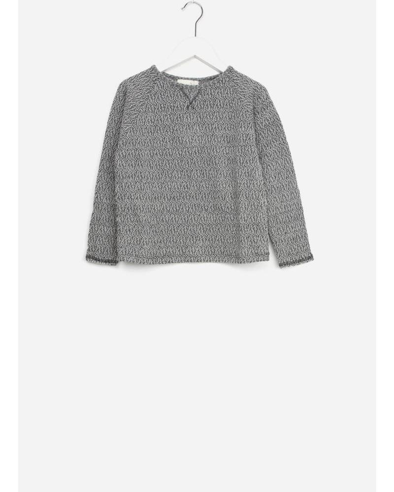 Buho linda jersey tweed sweater grey
