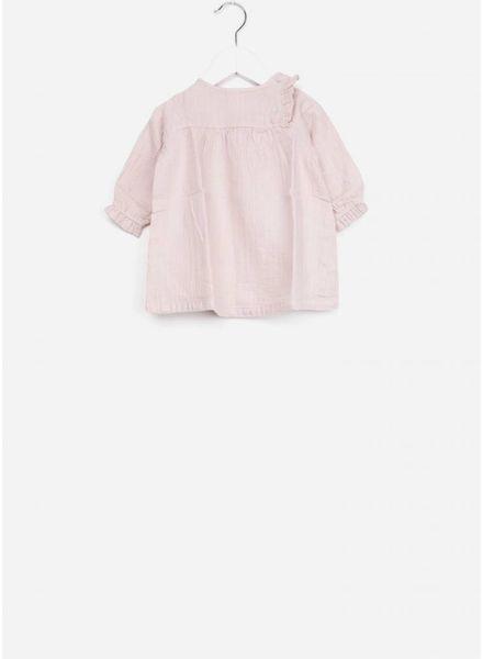 Bonton robe baby lurex guimauve