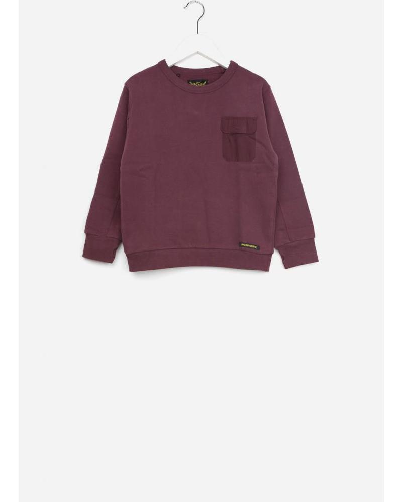 Finger in the nose brian burgundy sweatshirt