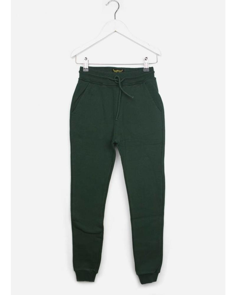 Finger in the nose sprint college green jogging pant