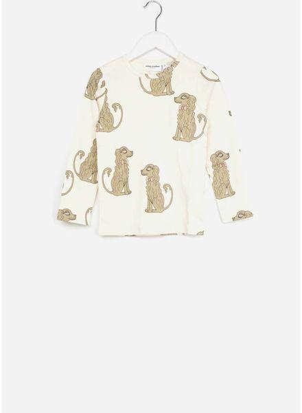 Mini Rodini shirt spaniel offwhite