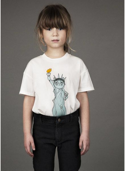 Mini Rodini shirt liberty white