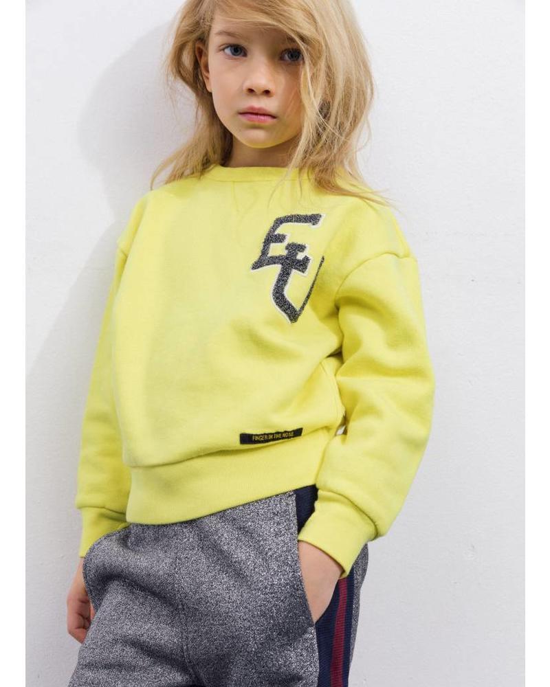 Finger in the nose academy yellow sweatshirt