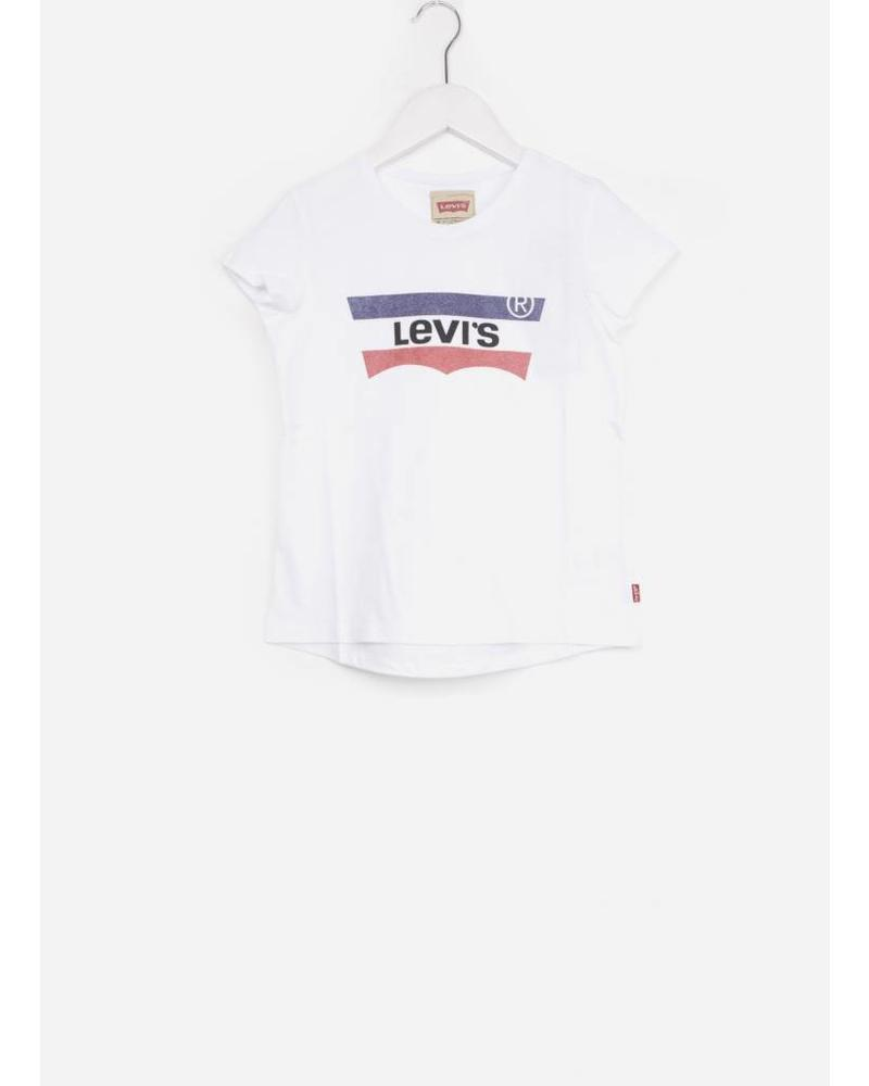 Levi's tee shirt blaise white
