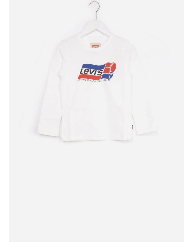 Levi's tee shirt flame marshmallow