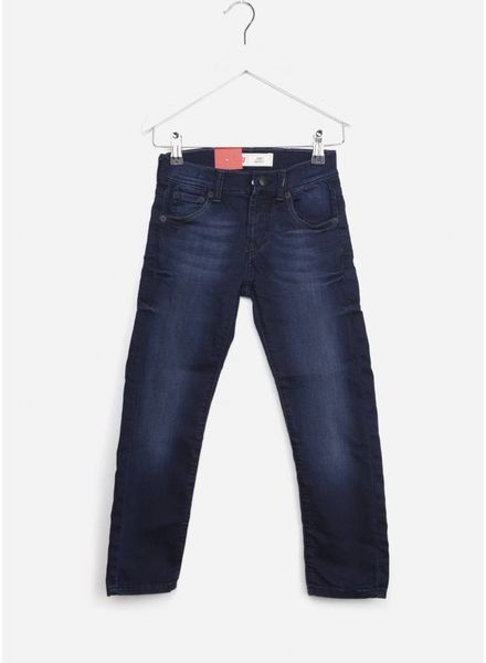 Levi's 510 broek blue black denim