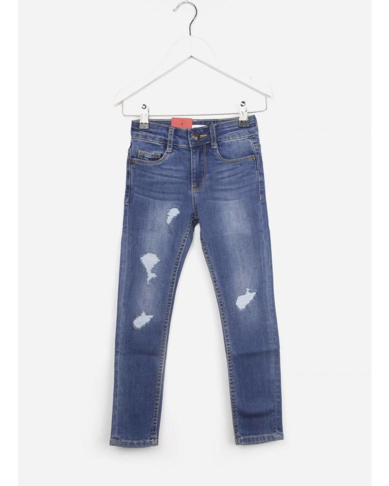 Levi's broek 711destroy denim