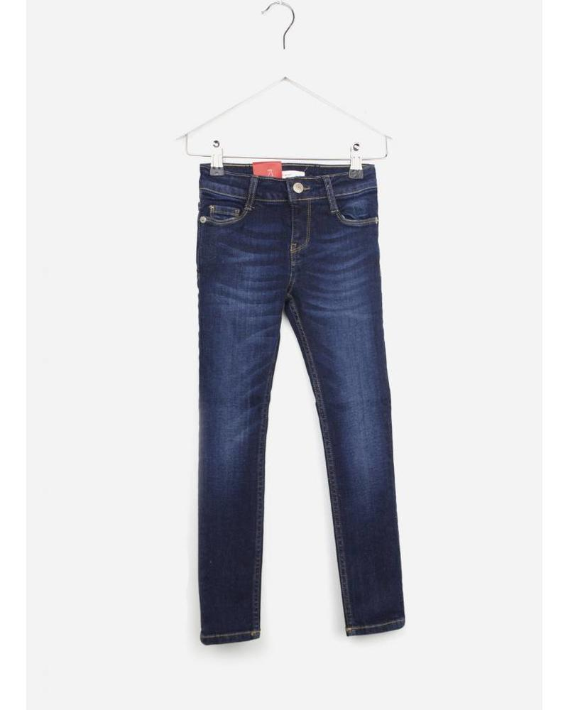 Levi's broek 711 dark blue denim