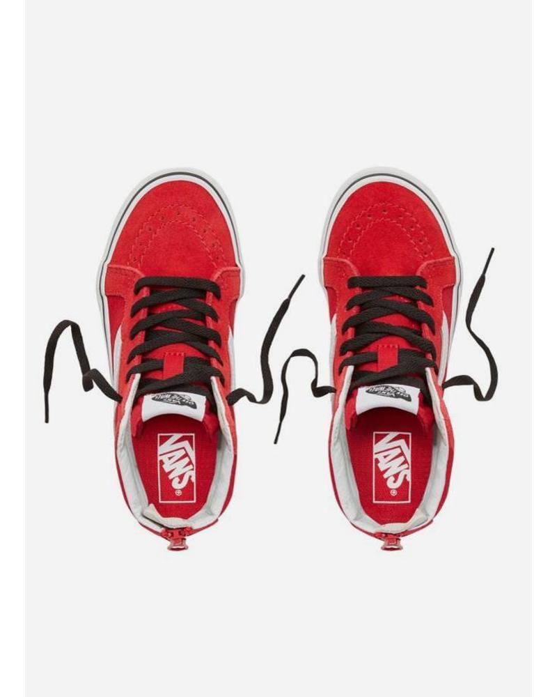 Vans Vans Suède Pop Sk8-Hi Zip Red/black