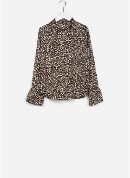 Les Coyotes De Paris blouse karlie leopard