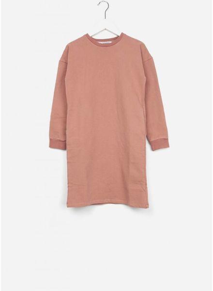 Mingo jurk sweater raspberry