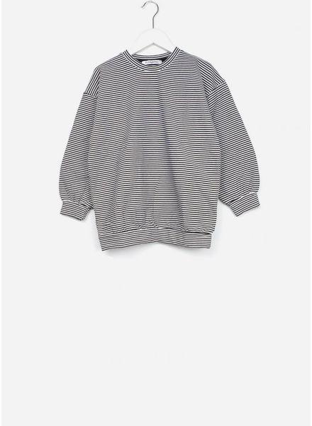 Mingo trui b/w stripes
