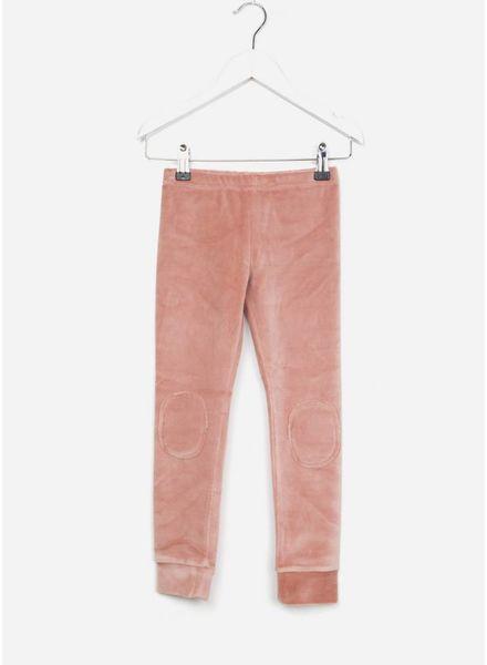 Mingo broek velvet legging raspberry