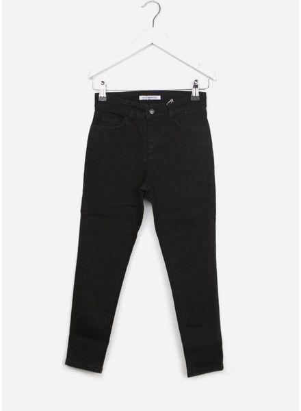 Mingo broek mum jeans black