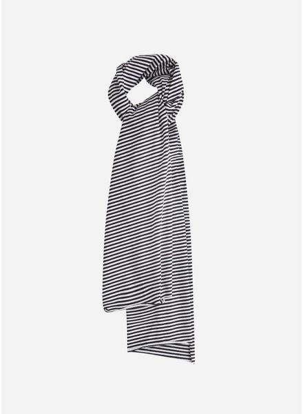 Mingo sjaal b/w stripes small