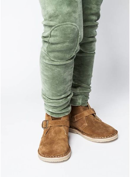 Mingo broek velvet legging duck green