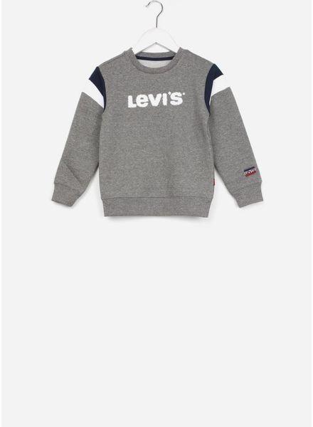 Levi's trui sweat shirt grey melange