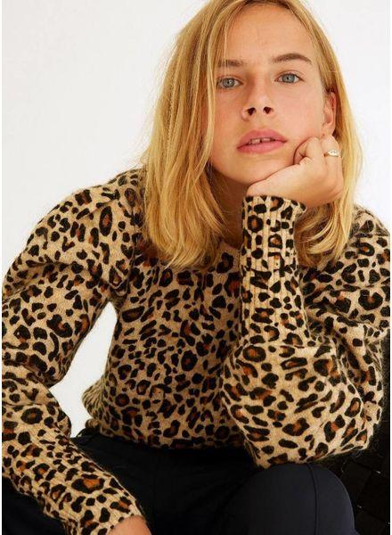 Les Coyotes De Paris trui julia leopard