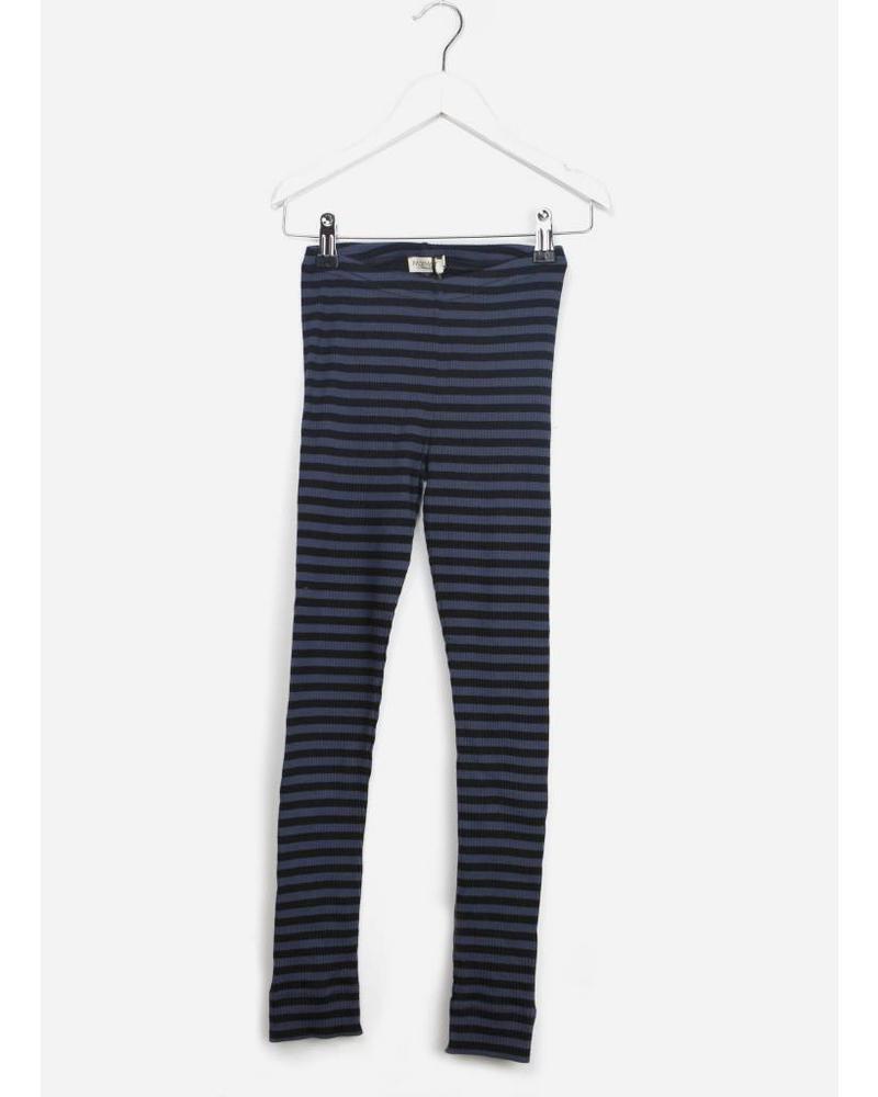 MarMar Copenhagen legging stripes caviar blue