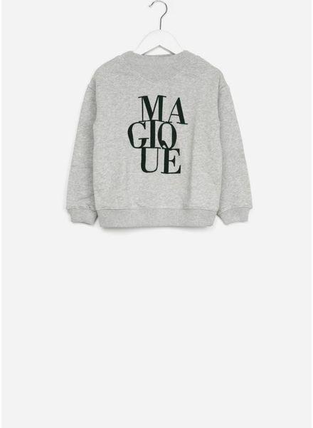 By Bar trui jikke sweater grey melange